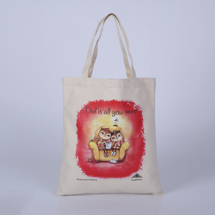 Heat Transfer customised printing tote bag canvas