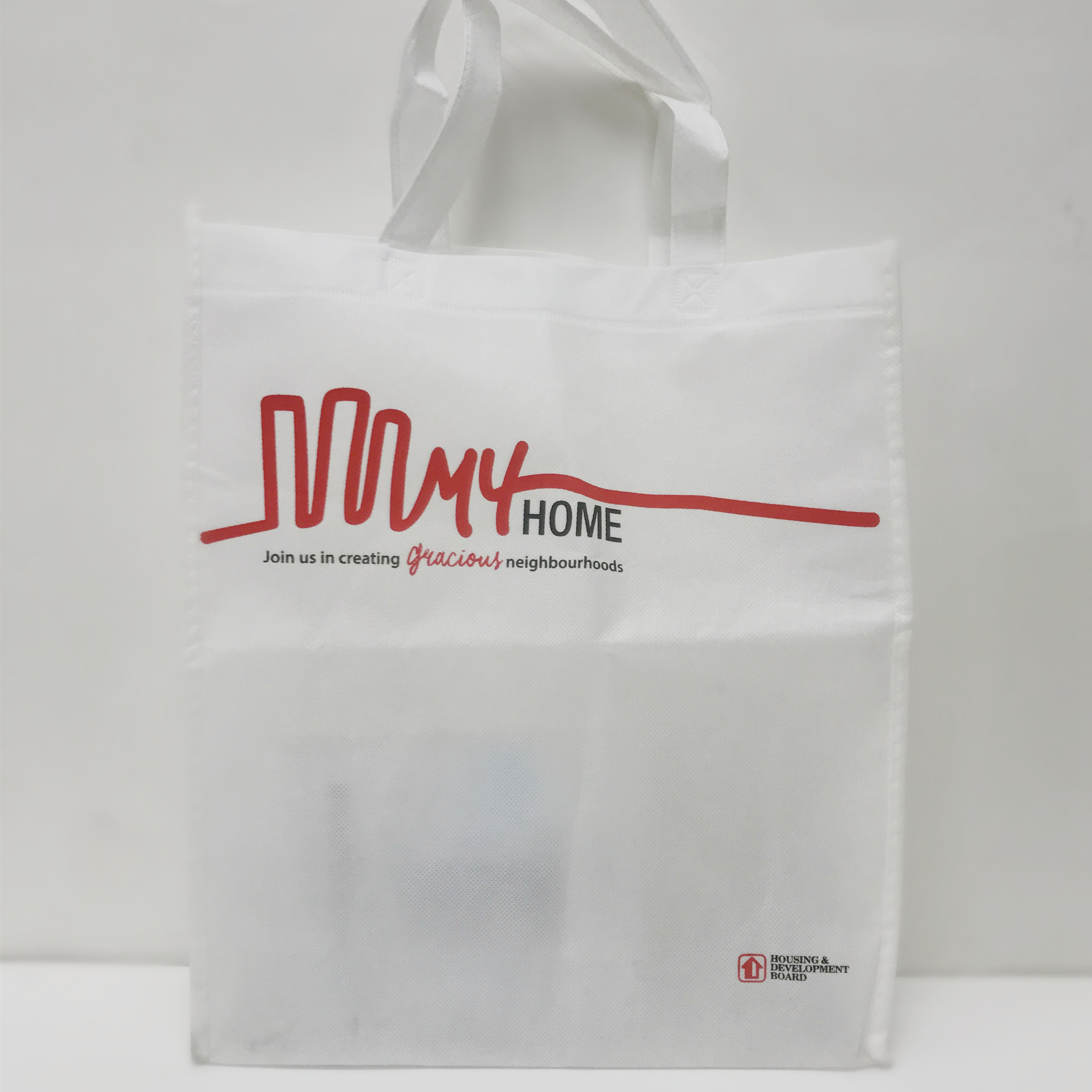 customised printing non-woven bag silkscreen printing