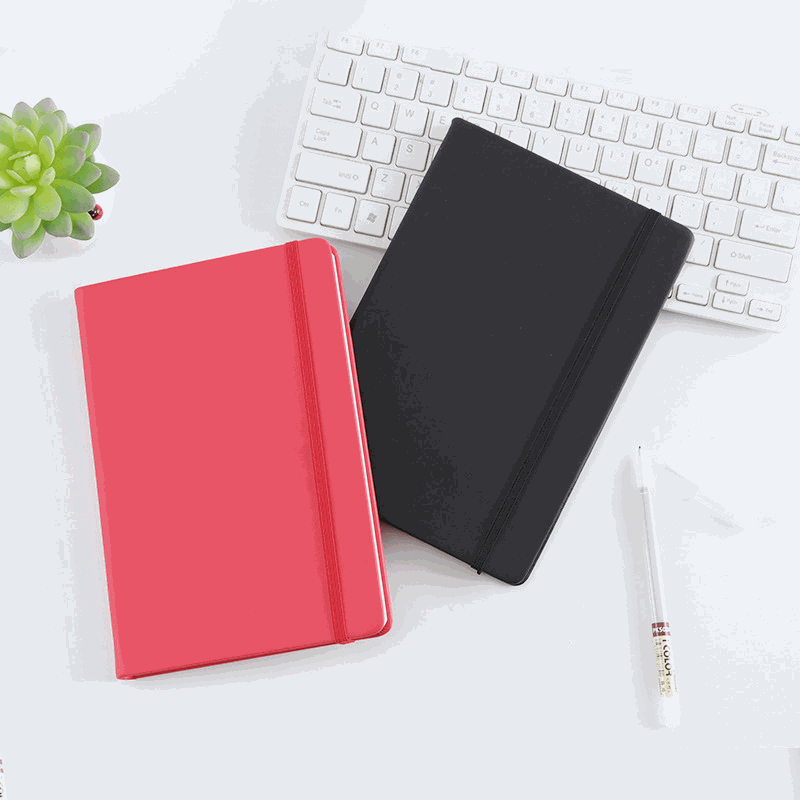 Premium Leather Notebook logo print customised event corporate gift