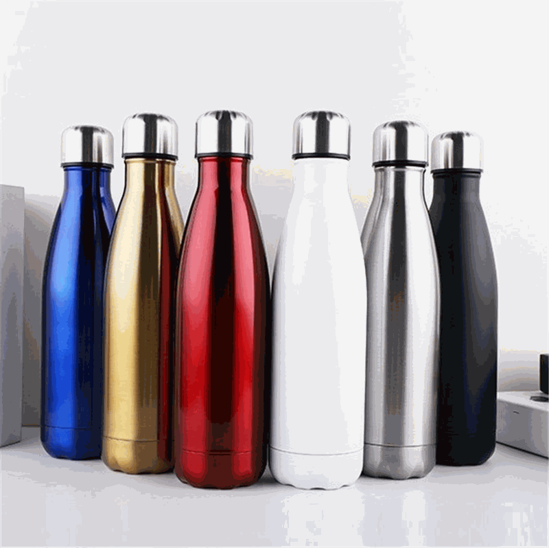 Insulated Stainless Steel Sports Bottle logo print customised event corporate gift