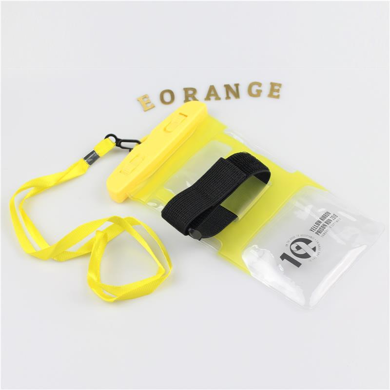 Customized logo print Sports Waterproof Armband Pouch Running race, company event, career fair, trade show, exhibition and conference goodies bag
