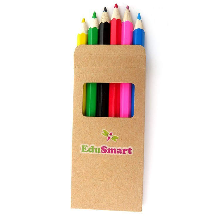 Coloring Pencils Set customised print logo singapore corporate gift door gift giveaway