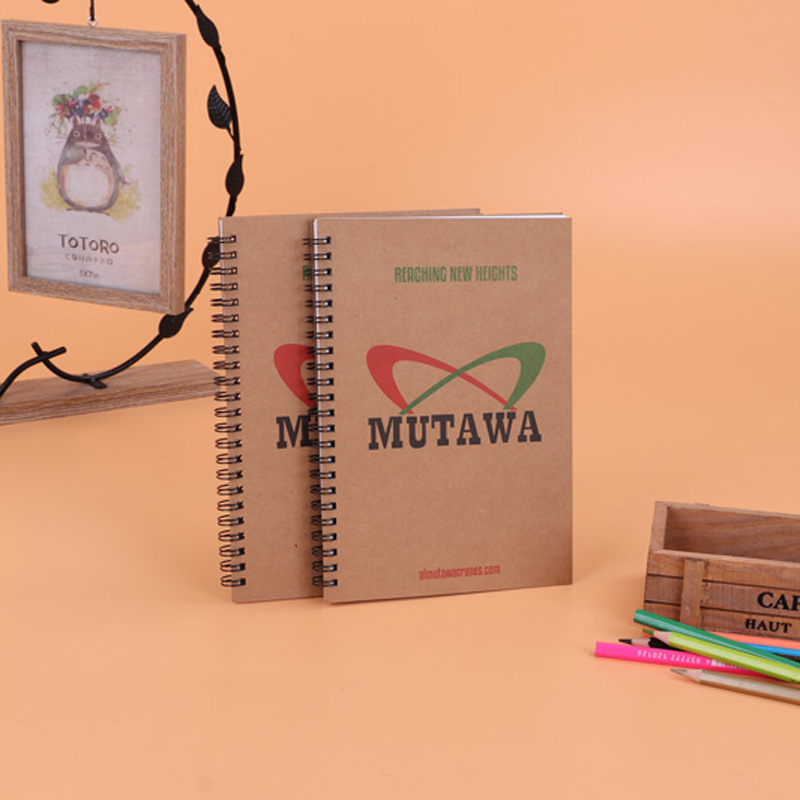 Classic Eco-Friendly Notebook logo print customised customized A5 wire-o Notebook printing full color colour corporate gift promotional singapore giveaway door wholesale singapore supplier