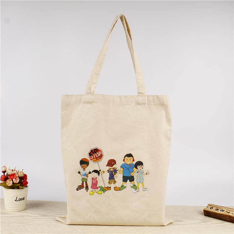 Classic Canvas Tote Bag customised logo print singapore corporate gift event