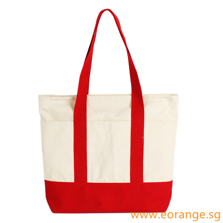 Coloured Canvas Tote Bag
